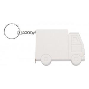 """""""Symmons"""" kamion kulcstartó mérőszalaggal , fehér"""