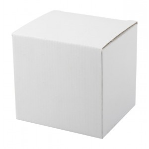 """""""Three"""" bögre doboz, fehér"""