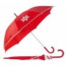 Haya Esernyő karácsonyi mintával, piros